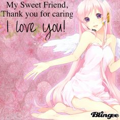 For my friends! I love you all! 3