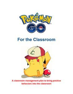 Everything you need to have a PBIS positive classroom management.Opening week activity to introduce gameBehavior incentive cards that allow you to evolve your pokemon for rewards.Pokestops and Gyms.System to turn your classroom into a Gym and postively promote competition and positive behavior through a 3 team (red, blue and yellow team competitions.