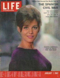Claudia Cardinale - Life Magazine [United States] (1 January 1962)