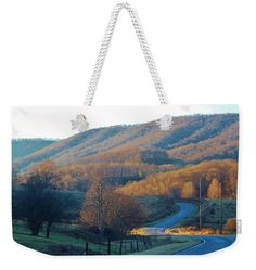 Hills Weekender Tote Bag featuring the photograph Over The Hills We Go by Cynthia Guinn