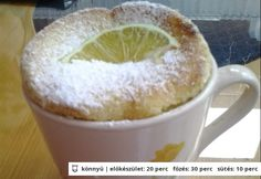 Lime-os-kókuszos szuflé Hungarian Cake, Hungarian Recipes, Lime, Pudding, Cakes, Tableware, Food, Limes, Dinnerware