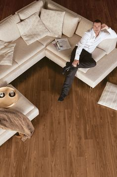 Quick-Step Eligna laminate flooring with volume discounts and free Quick-Step underlay. Full Eligna range in stock. Order today with free & fast delivery. Walnut Laminate Flooring, Waterproof Laminate Flooring, Quickstep Laminate, Quick Step Flooring, Tapis Design, Living Room Flooring, Living Room Inspiration, Room Set, Wood Design