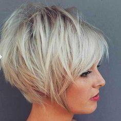 20.Short Straight Haircut