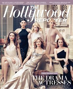Emmy Rossum, Julianna Margulies, Kyra Sedgwick, January Jones, Claire Danes, Mireille Enos - The Hollywood Reporter - June 8, 2012 - Joe Pugliese