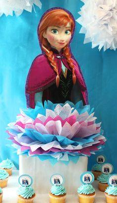 Sophia's Frozen Birthday Party | CatchMyParty.com