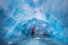 10 reasons to visit alaska, Spencer Glacier, Ice Cave, Alaska, Spencer Glacier Ice Cave, Glcier, Blue, Ice, Ice Caving, Paid Travel Blogger