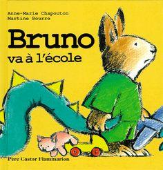 Bruno va à l'école CPRPS 31997000813345 Bruno se prépare pour une journée à l'école. Bruno, Broadway, Toys, Animaux