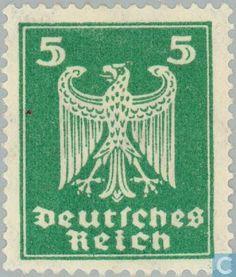 1924 German Empire - Eagle