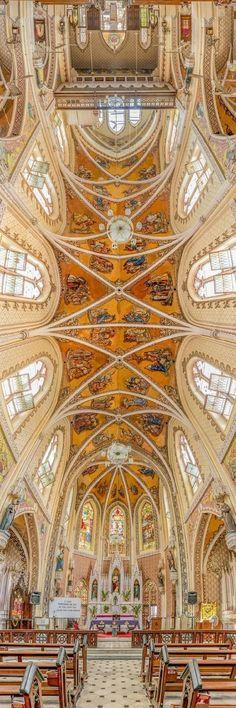 Holy Name Cathedral, Mumbai, India #DiscoverIndia