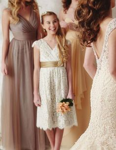 Boho-chic Flower Girl Dress,Boho Girls Outfit,Junior Bridesmaid ...