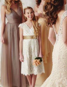 blue junior bridesmaid dresses  Dresses  Pinterest  Nu&39est jr ...