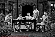 Naked Rowers of Warwick University