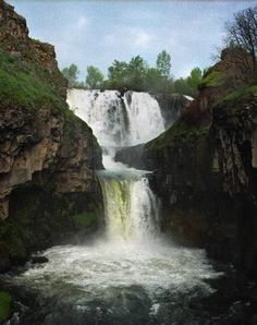 White River Falls near Tygh Valley, Oregon
