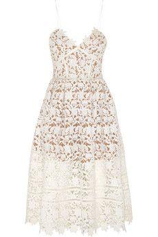 Self-PortraitAzaelea floral lace dress - casual & beautiful - could even wear as wedding dress