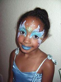 Marcela Murad Angel Wings face painting