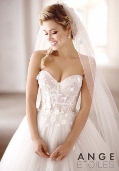 Ange etoiles charme collection wedding dress 12 bmodish