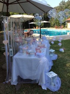 Confettata Spring Hill Nursery, Baptism Party, Pink Parties, Deco Table, Holidays And Events, Decoration, Wedding Table, Wedding Details, Baby Shower Gifts