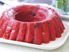 Summer cherry jell-O salad