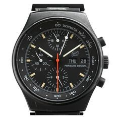1975 Stainless Steel Automatic Chronograph by PORSCHE DESIGN
