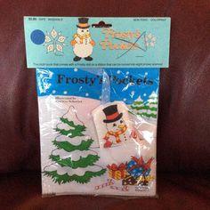Vintage NOS Frosty's Pockets Little Simon Soft Cloth Book Christmas Deadstock  | eBay
