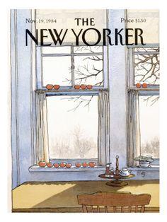 The New Yorker Cover - November 19, 1984