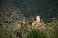 Castillo de Eslida .Castellon .Spain .