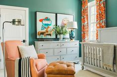 The nursery inside the HGTV Smart Home 2016 in Raleigh.