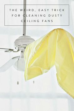I love this tip. I tried it and cleaning my fan was easier and less messy. I will continue to clean my fans this way.