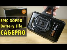 Need EPIC GOPRO Battery life? Meet the CagePro!