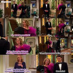 Disney Channel Good Luck Charlie. Teddy Duncan, Spencer Walsh, and Amy Duncan. Bridgit Mendler, Shane Harper and Leigh Allyn. Prom dress..