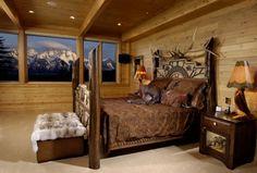 million dollar view in bedroom