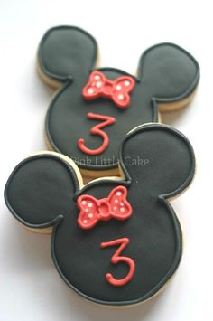 Minnie Mouse Cookies cute for little girl birthday