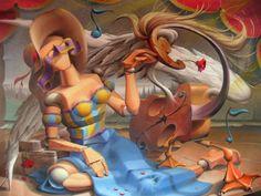 Artista transforma cores em sensações e sentimentos estampados em tela (Foto: Divulgação )