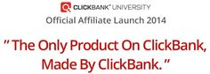 Before we dig into what ClickBank is all about, I wanted to briefly mention something about making your own products. You can make your own products and sell them on ClickBank as a vendor. Sometimes you may want to patent your idea.www.howtopatentsomething.org is a great place to learn how to do just that. What is ClickBank? ClickBank is the largest and most popular affiliate marketing network on the internet.At ClickBank you can find all sorts of products, for all sorts of niches, in all…