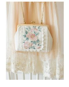 Floral Embroidery Patterns, Embroidery Bags, Vintage Embroidery, Mochila Retro, Bag Women, Moda Boho, Accesorios Casual, Handmade Purses, Floral Bags