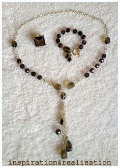 inspiration and realisation: DIY Fashion + Home: DIY necklace and bracelet