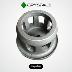 Impeller Impeller alias Accelerator, Dispenser etc. is the component that accelerates the abrasive/media through the control cage opening onto the blade surface. Impellers impart initial acceleration/velocity to the abrasive. The impeller fitment also places a vital role in the system performance. #CrystalsGroups #impeller #machines #industries Visit - http://crystals-group.com/