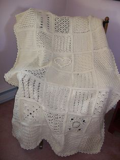 Afghans - Chelle's Needles & Hooks A beautiful crocheted afghan. Oh my!