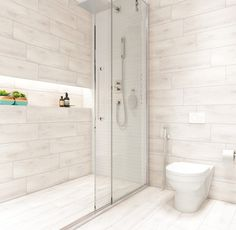Albero™ skillfully incorporates the visual features of wood in glazed ceramic tile. Bringing to life the warmth and cozy feeling of natural wood, it is offered in natural earthy colors and a standard wood plank size. Wood Look Tile Bathroom, Wood Tile Shower, Wood Plank Tile, Ceramic Tile Bathrooms, Shower Floor, Master Bathroom, Bathroom Tile Showers, Tub Tile, Master Shower