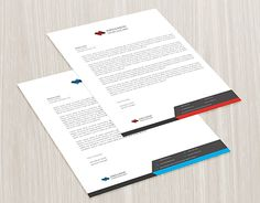 """Check out new work on my @Behance portfolio: """"Corporate Letterhead"""" http://on.be.net/1NQc4fq"""