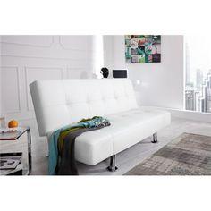 Sofa Pur biała, rozkładana