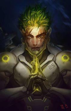 ArtStation - overwatch genji, coax 콕스