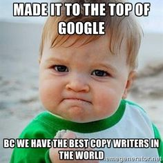 Our copywriters use SEO to make your website on the top of Google #Google #SEO #copywriters #searchengine — with Rebecca Jing and 2 others.