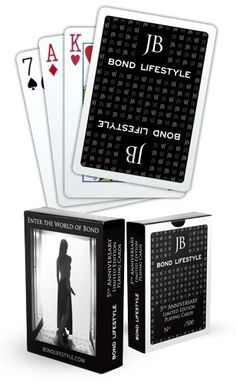 Limited Edition Bond Lifestyle Poker Cards