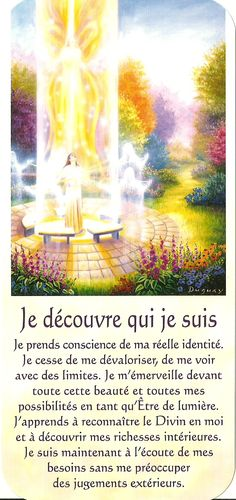Mario Duguay Messages Spirituels, Spiritus, Motivation Goals, Self Empowerment, French Quotes, Mario, Positive Mind, Oracle Cards, Osho