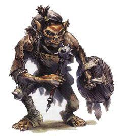 Goblin DampD Character Art Goblinoids Pinterest