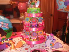 Dora party tower