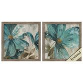Found it at Wayfair - Gisel 2 Piece Framed Painting Print Set