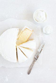 White Butter Cake.