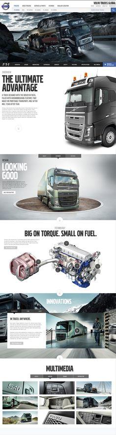 Volvo Trucks https://www.behance.net/gallery/13097021/Volvo-Trucks-Global-Website
